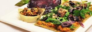 Atelier cuisine : focaccia amande origan légumes