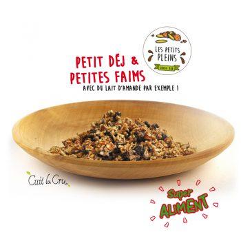 Granola - Petit déjeuner Cuit Lu Cru